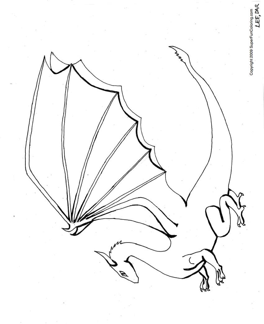 Dragon 5797 Animals Printable Coloring Pages