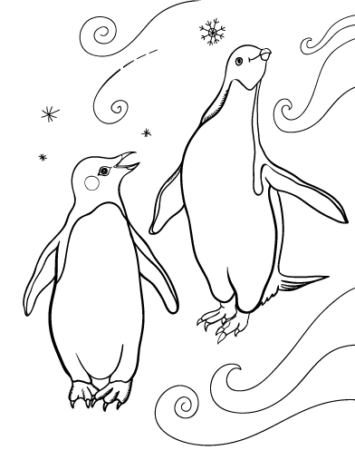 Penguin #16968 (Animals) - Printable coloring pages
