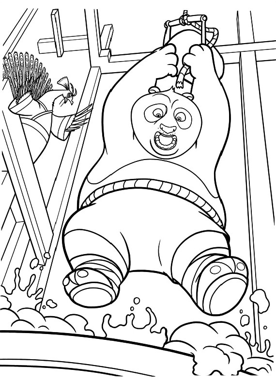 Kung Fu Panda 73489 Animation Movies Printable Coloring Pages