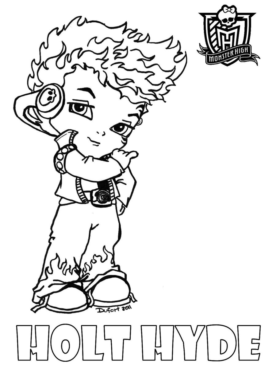 Monster High 24892 Animation Movies Printable Coloring Pages