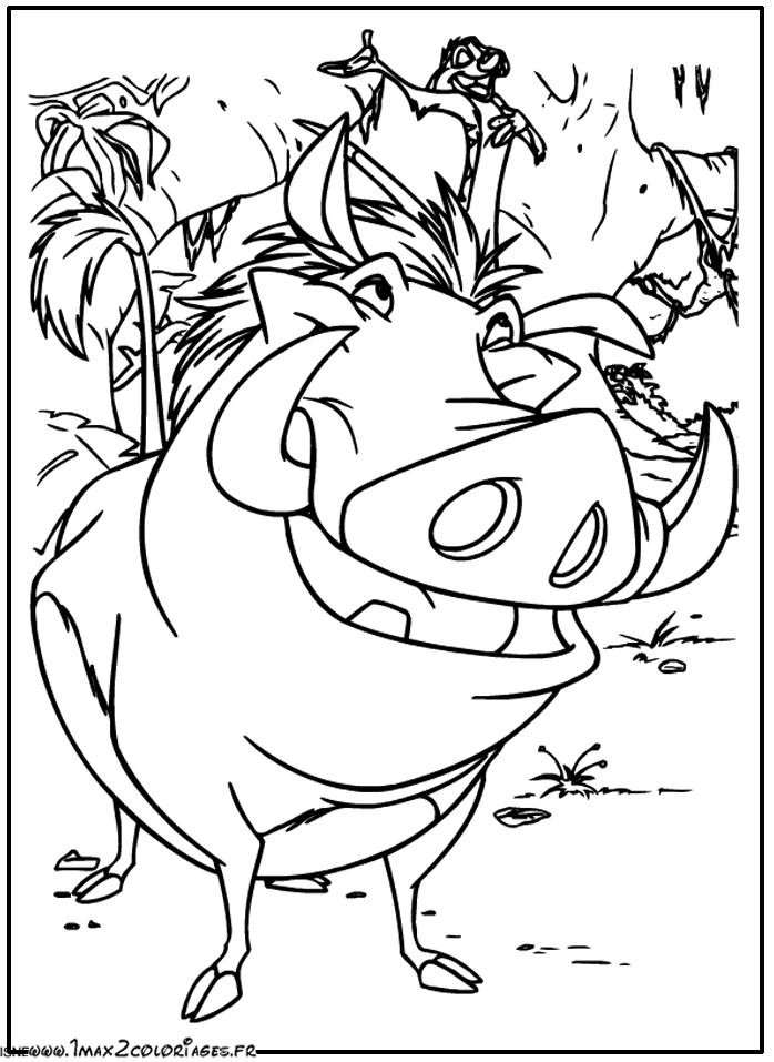The Lion King 73631 Animation Movies Printable Coloring Pages