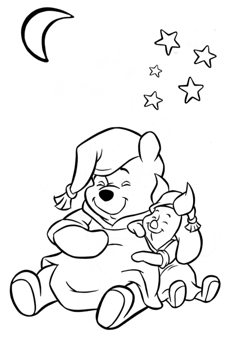 Winnie The Pooh #28650 (Animation Movies) – Printable Coloring Pages