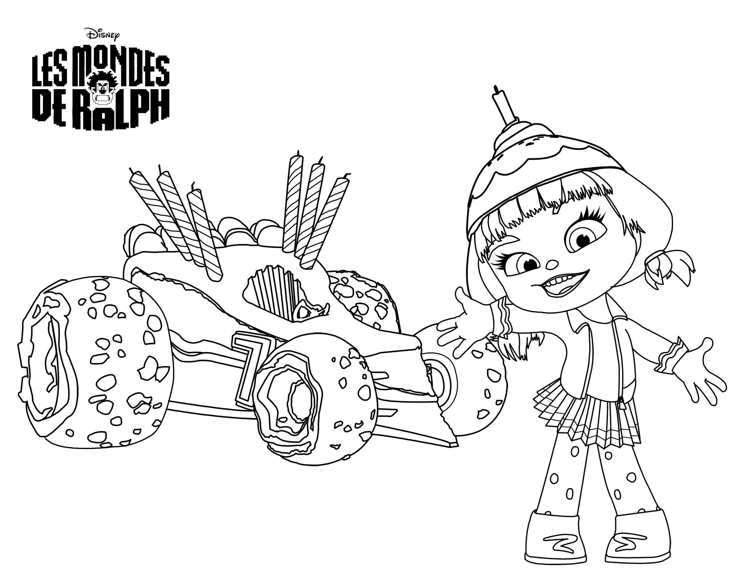 Wreck It Ralph 130485 Animation Movies Printable Coloring Pages