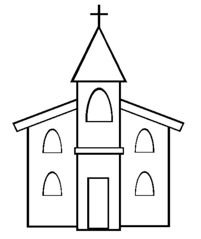 - Church (Buildings And Architecture) – Printable Coloring Pages
