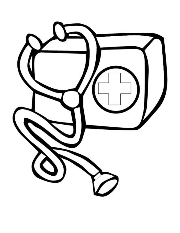 Hospital 62006 Buildings And Architecture Printable Coloring Pages