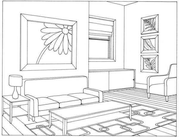 Living room #66373 (Buildings and Architecture ...
