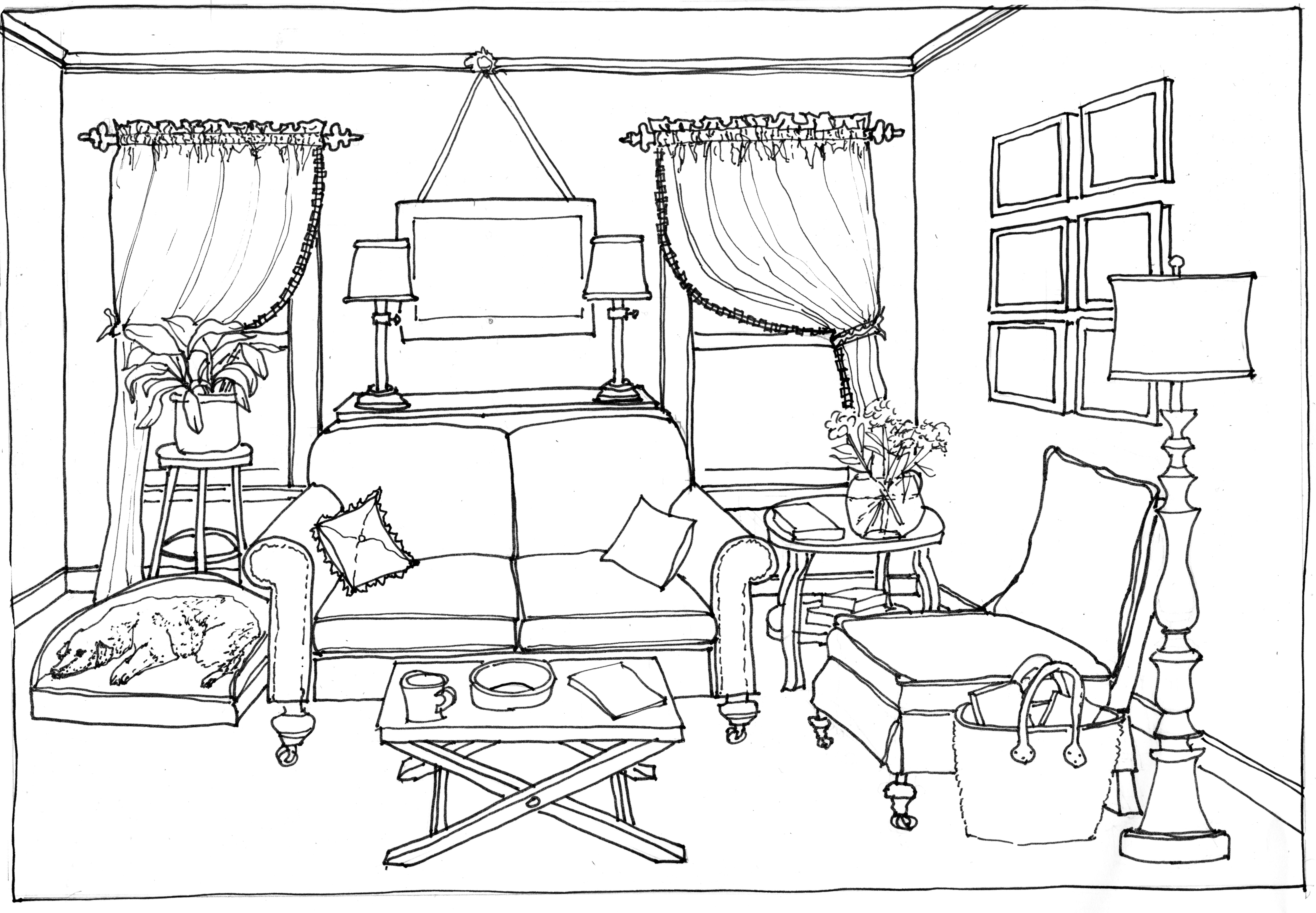 Living room #66430 (Buildings and Architecture ...