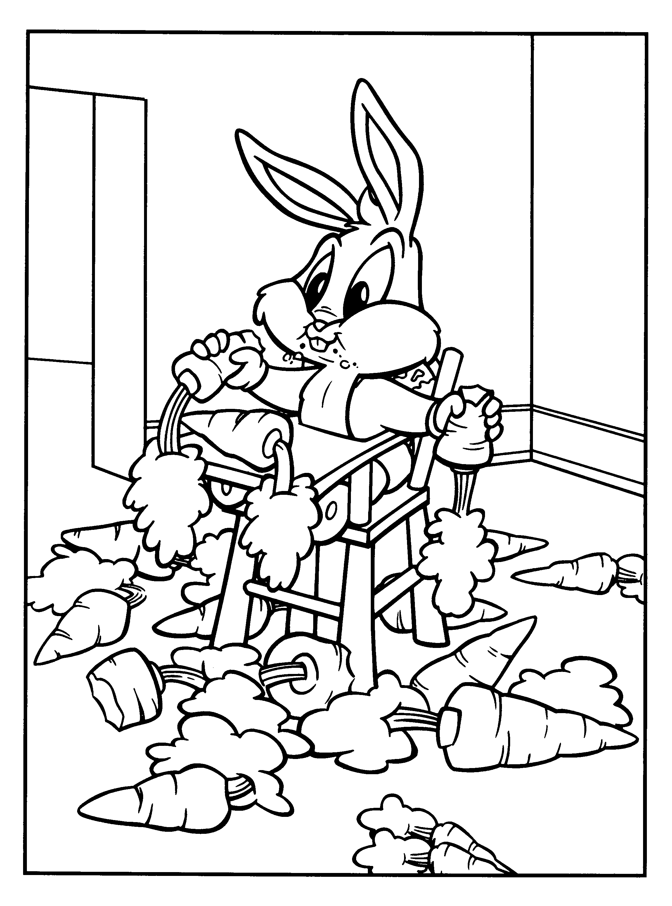 Baby Looney Tunes #63 (Cartoons) - Printable coloring pages