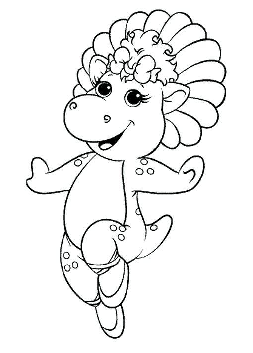 Barney And Friends #40952 (Cartoons) – Printable Coloring Pages