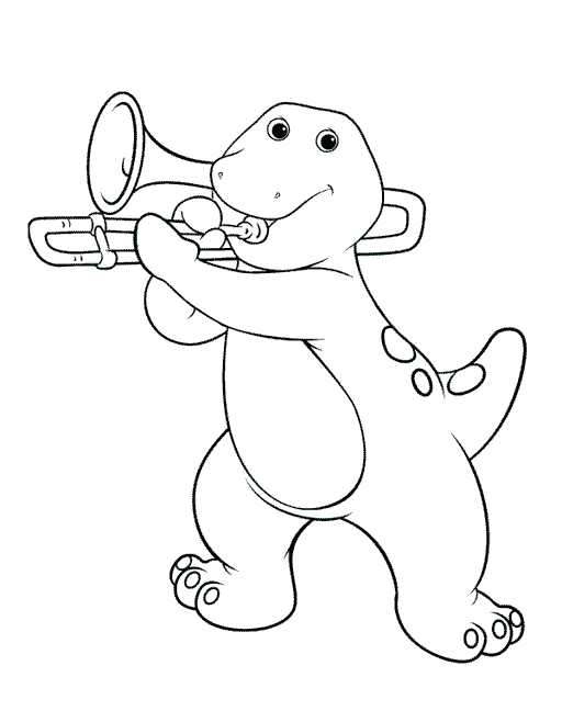 Barney And Friends #41016 (Cartoons) – Printable Coloring Pages