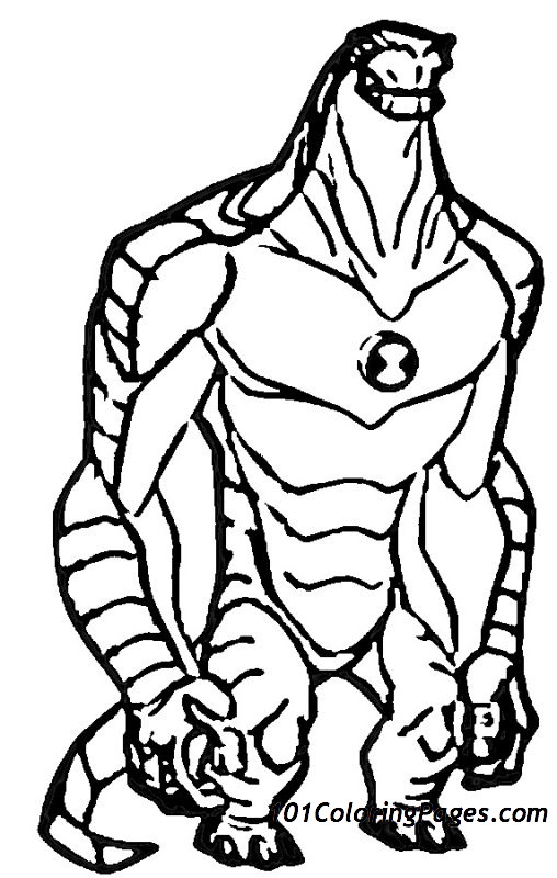 Ben 10 #40459 (Cartoons) – Printable Coloring Pages