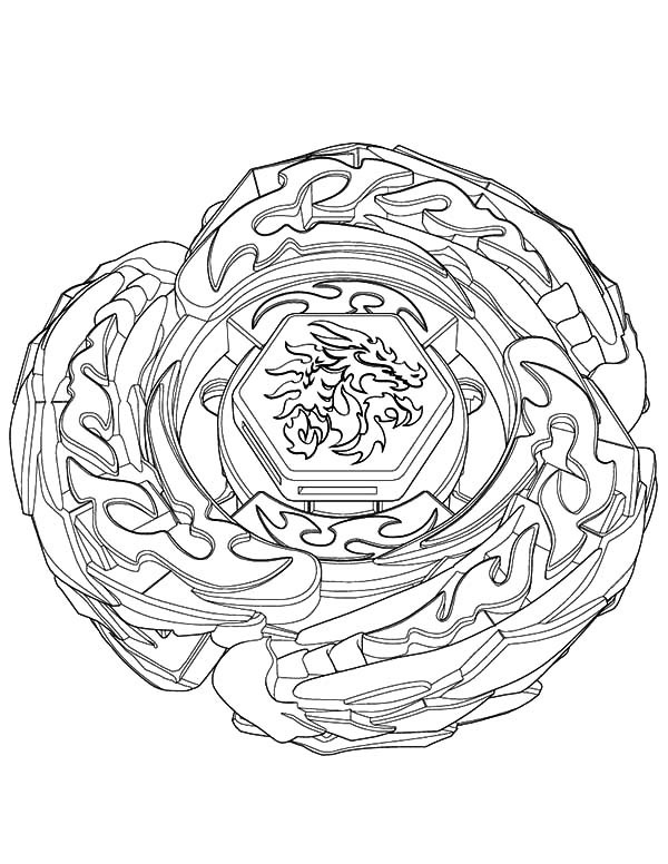 Beyblade 46812 Cartoons Printable Coloring Pages