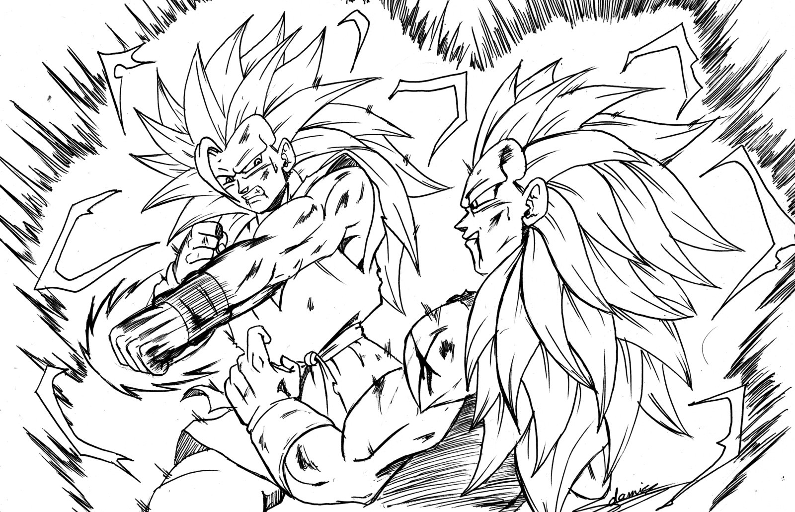 Dragon Ball Z #38478 (Cartoons) - Printable coloring pages