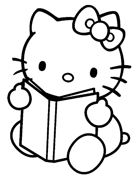 Hello Kitty 330 Cartoons Printable Coloring Pages