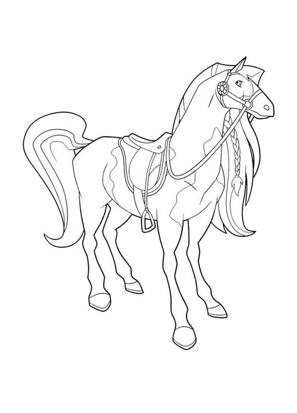 horseland cartoons  page 3  printable coloring pages
