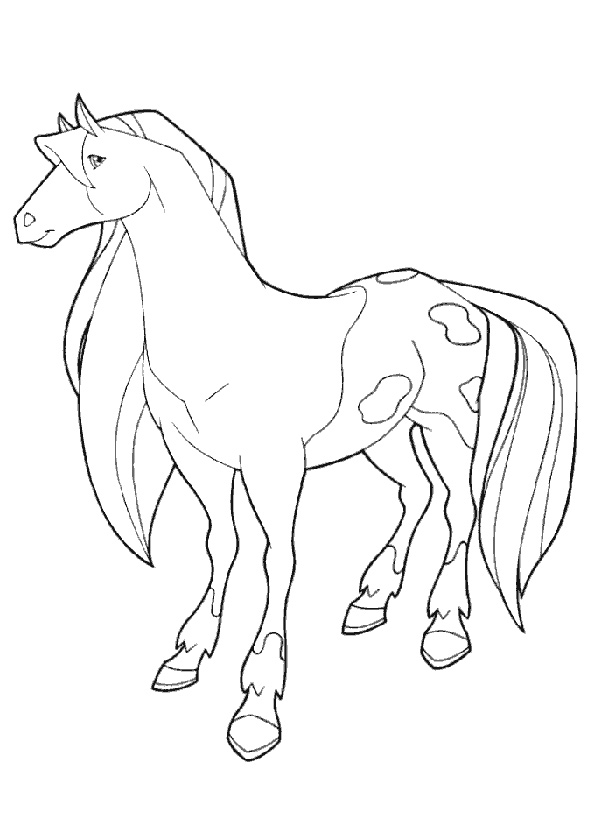 horseland page 2 printable coloring pages