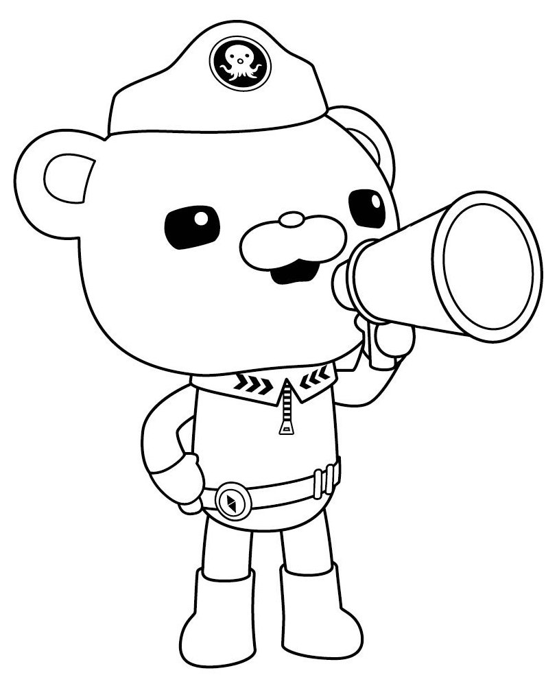 - Octonauts #40570 (Cartoons) – Printable Coloring Pages