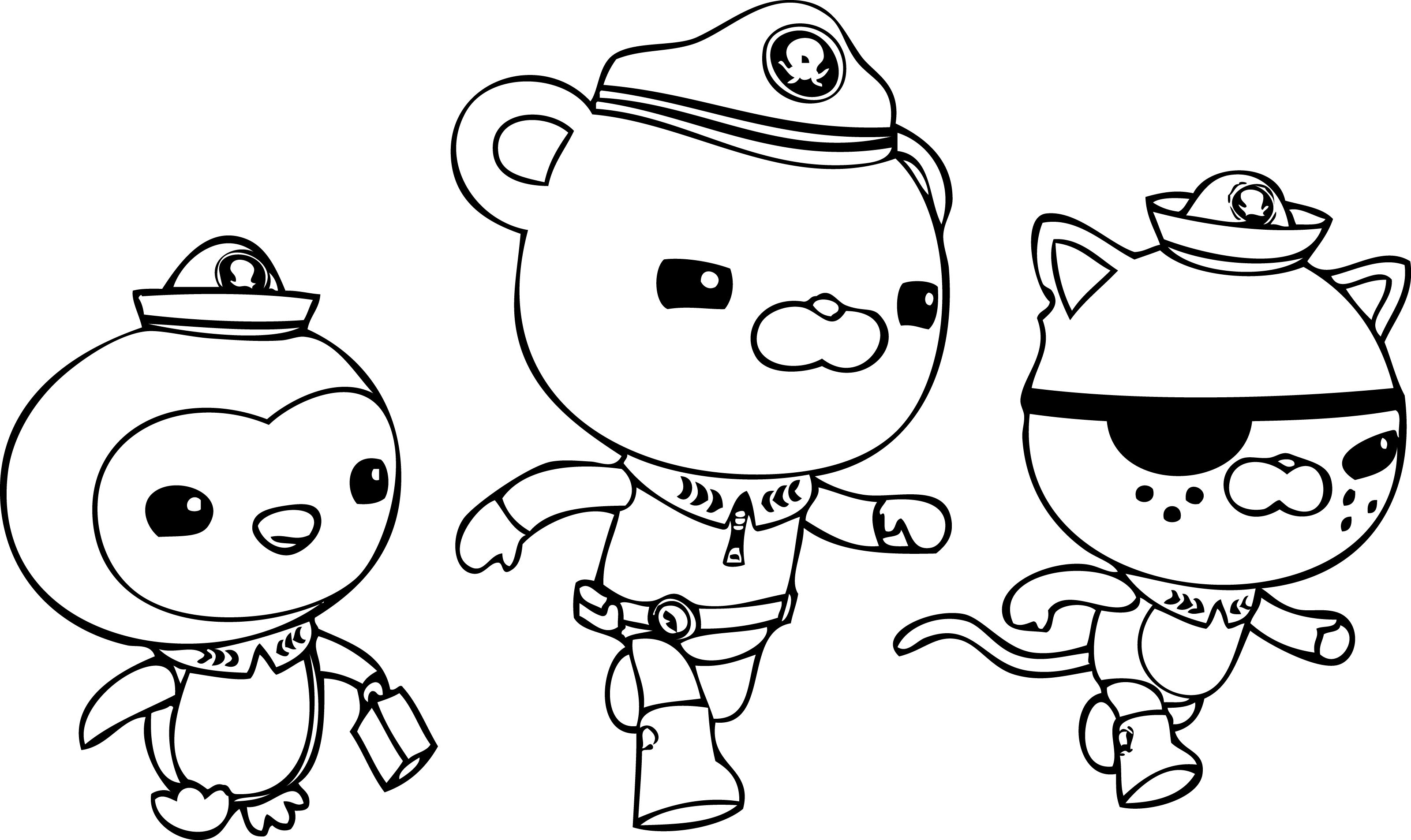 Octonauts 40618 Cartoons Printable Coloring Pages