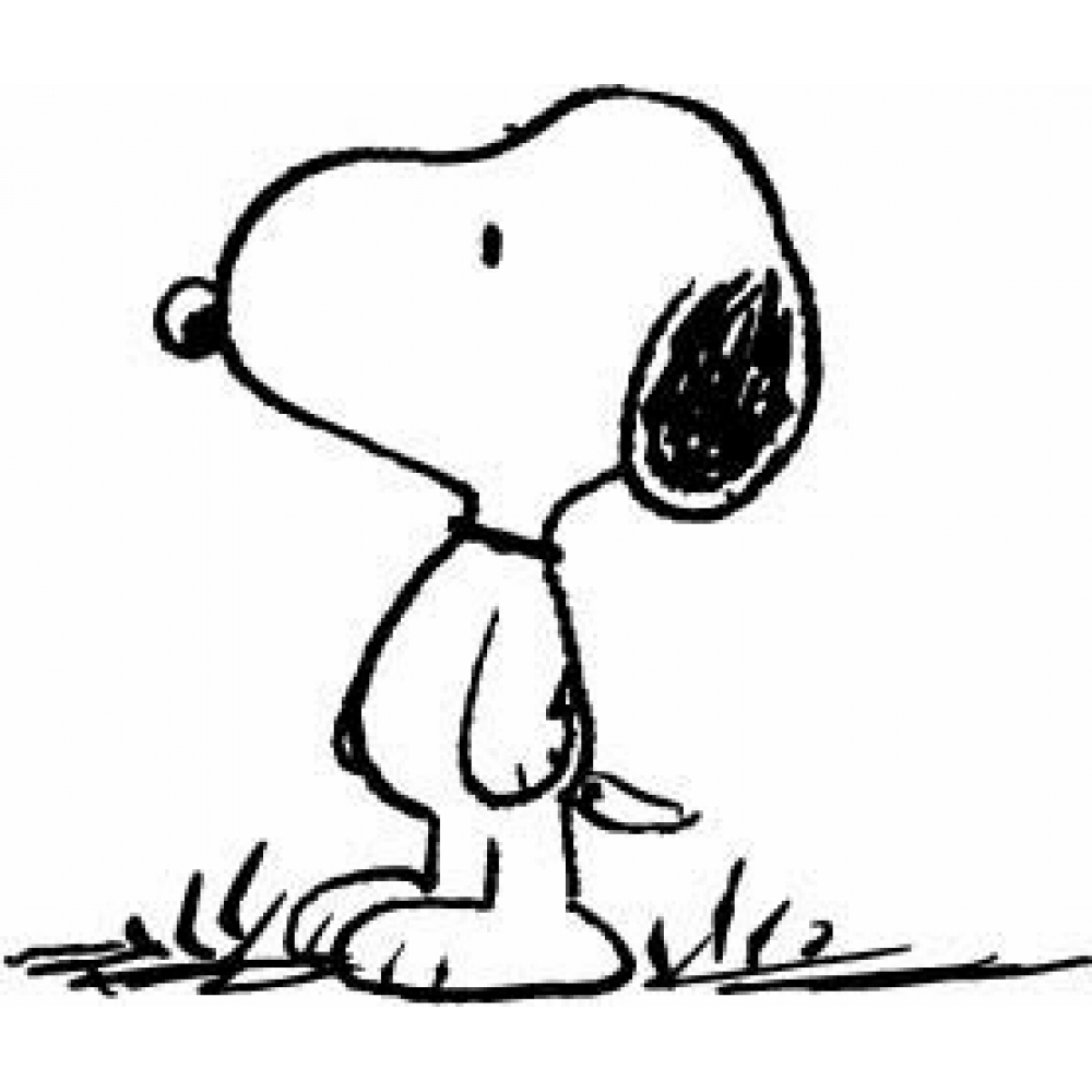 Snoopy 27106 Cartoons Printable Coloring Pages