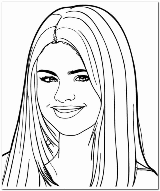 Celebrities Printable Coloring Pages