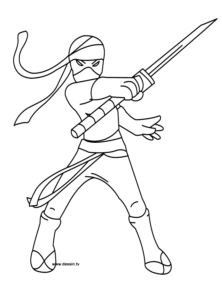 Ninja 147907 Characters Printable Coloring Pages