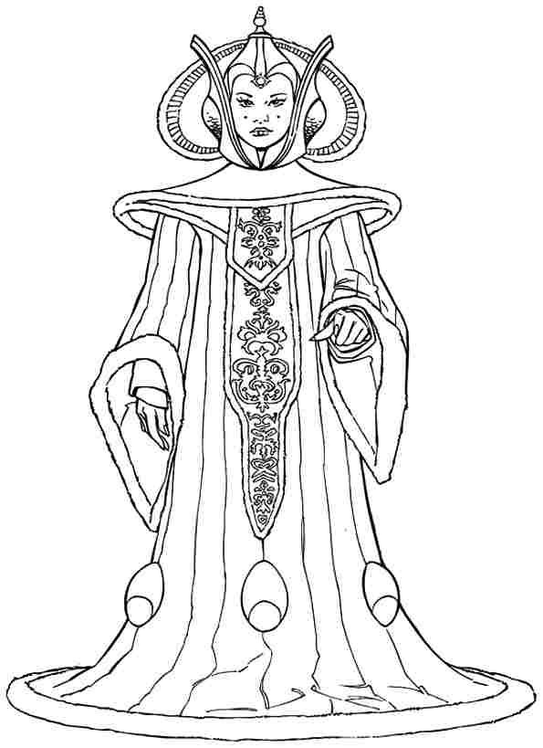 Queen #106333 (Characters) - Printable coloring pages