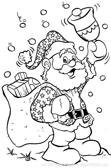 Santa Claus #104719 (Characters) – Printable coloring pages