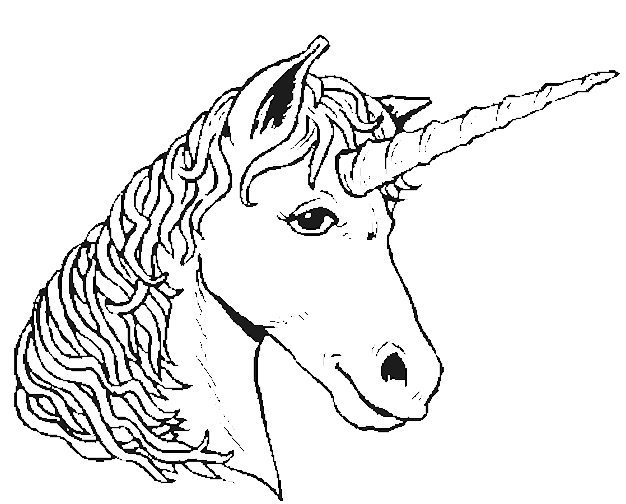 unicorn 19452 characters  printable coloring pages