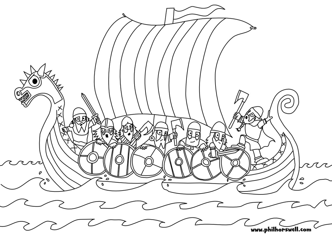Viking (Characters) – Printable coloring pages