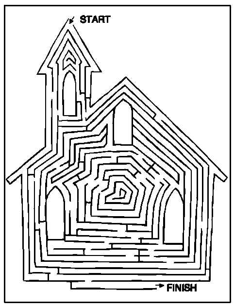 Labyrinths #126514 (Educational) – Printable Coloring Pages