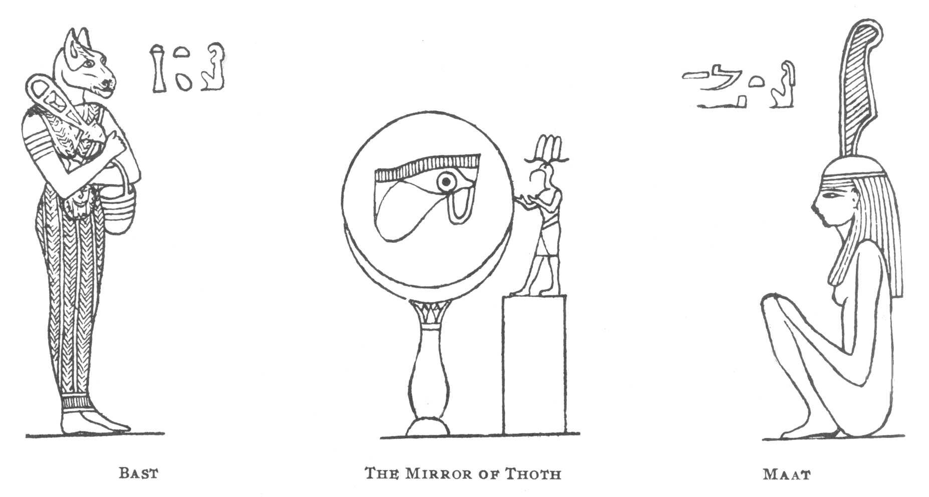 Egyptian Mythology #119 (Gods and Goddesses) – Printable coloring pages