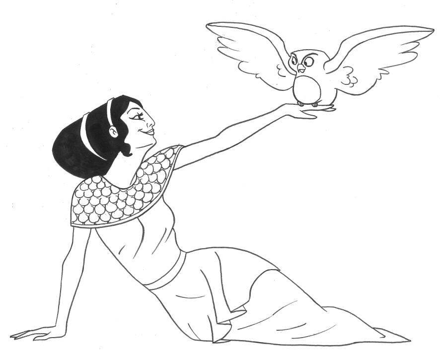 Greek Mythology 109859 Gods And Goddesses Printable Coloring Pages
