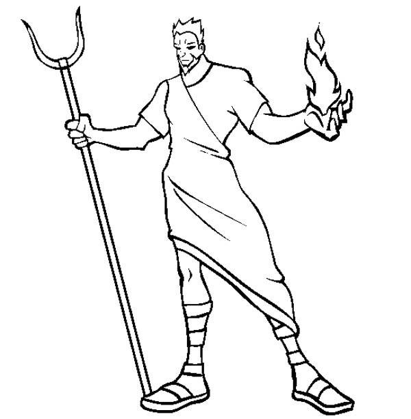 Greek Mythology 109963 Gods And Goddesses Printable Coloring Pages