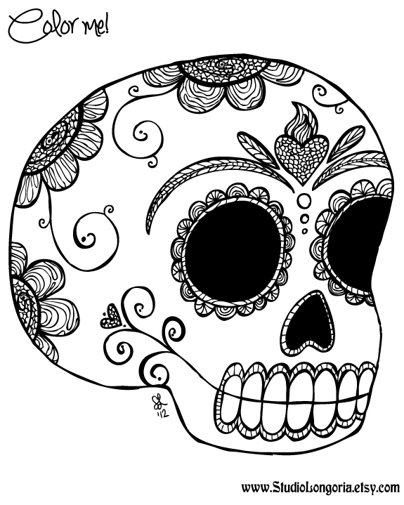- Day Of The Dead #60149 (Holidays And Special Occasions) – Printable  Coloring Pages