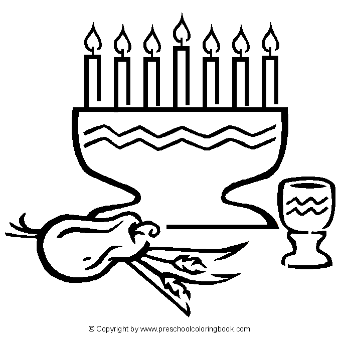 Kwanzaa 60414 Holidays And Special Occasions Printable Coloring Pages