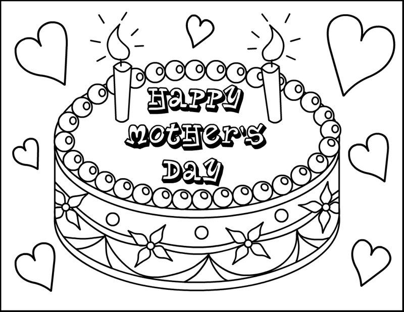 Mothers Day #129841 (Holidays And Special Occasions) – Printable Coloring  Pages