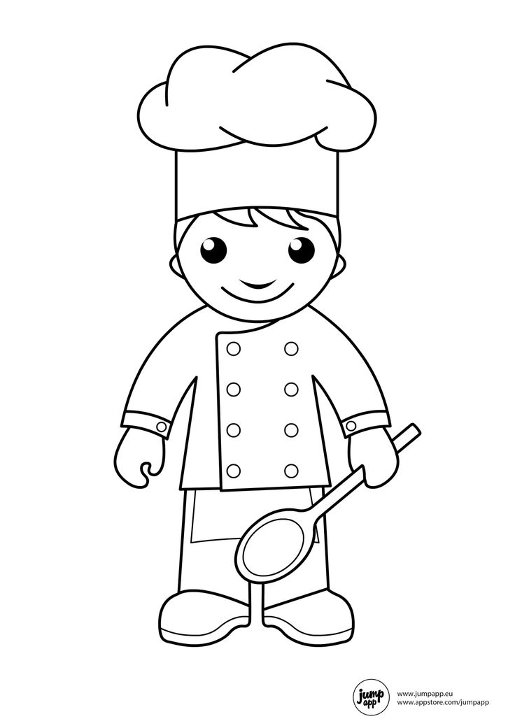 - Cook #91786 (Jobs) – Printable Coloring Pages