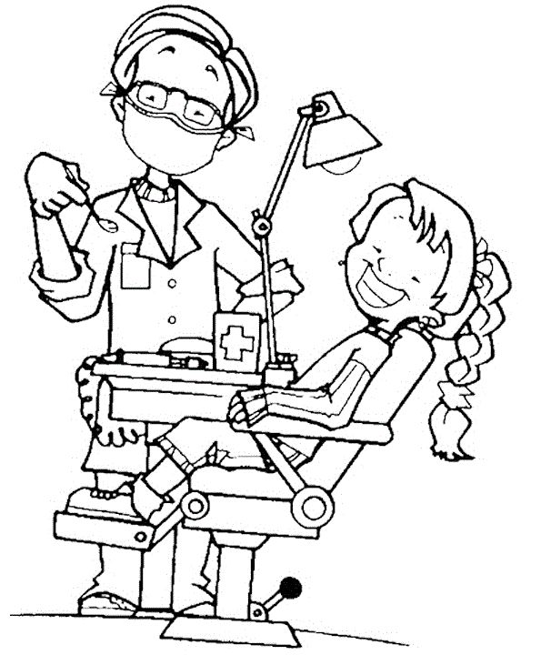 - Dentist #92856 (Jobs) – Printable Coloring Pages