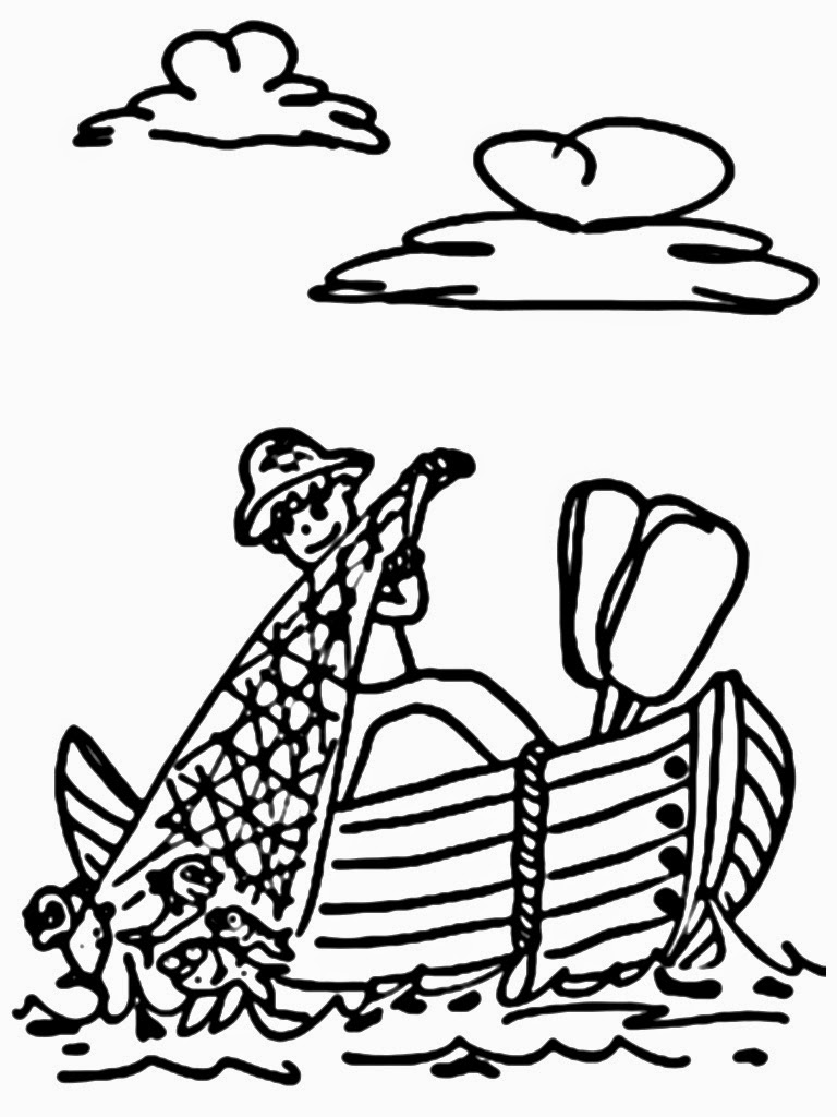 Fisherman 103960 Jobs Printable Coloring Pages