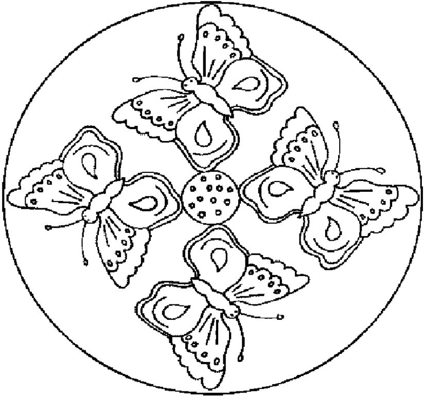 Animals Mandalas Mandalas Printable Coloring Pages