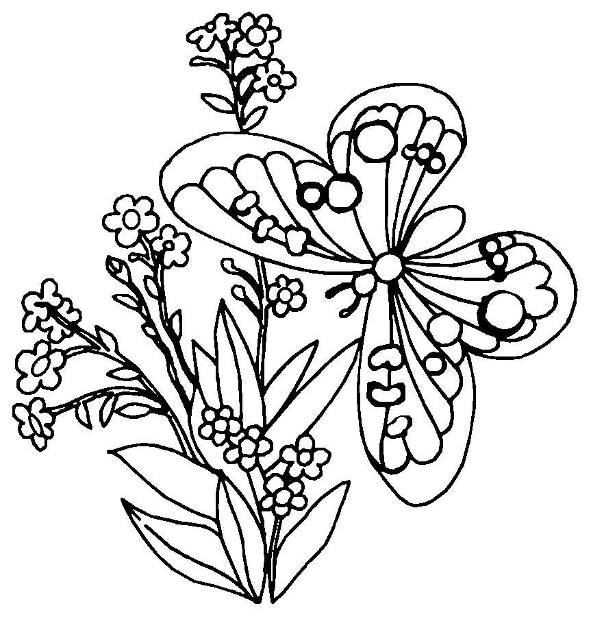 Butterfly Mandalas #117541 (Mandalas) - Printable coloring ...