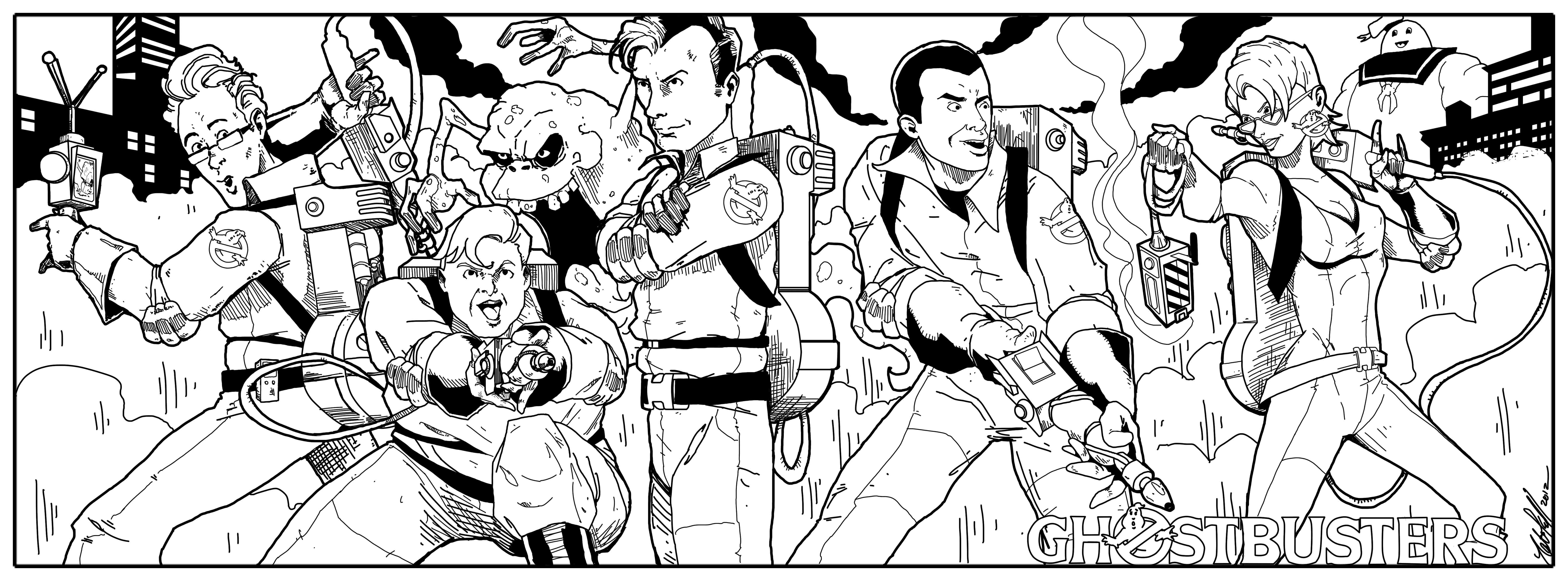 Ghostbusters 134017 Movies Printable Coloring Pages