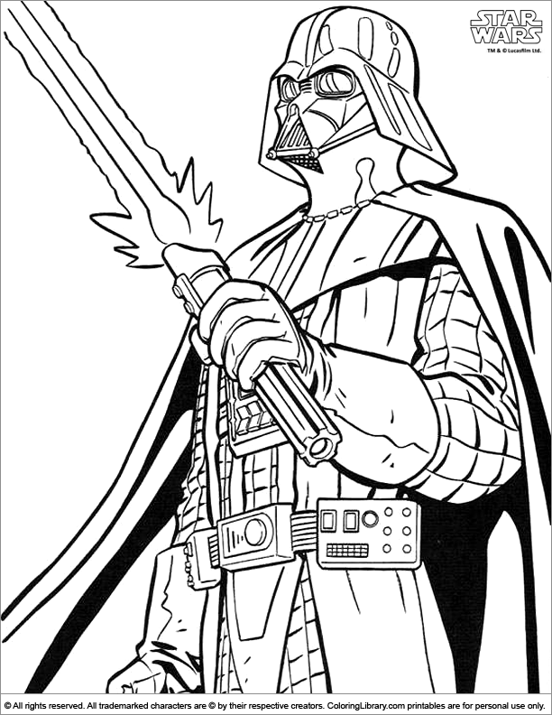 Star Wars 70584 Movies Printable Coloring Pages