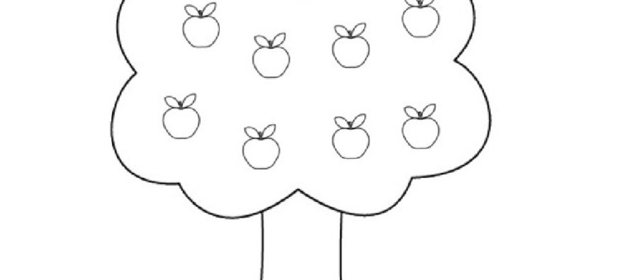 Apple Tree 163755 Nature Printable Coloring Pages