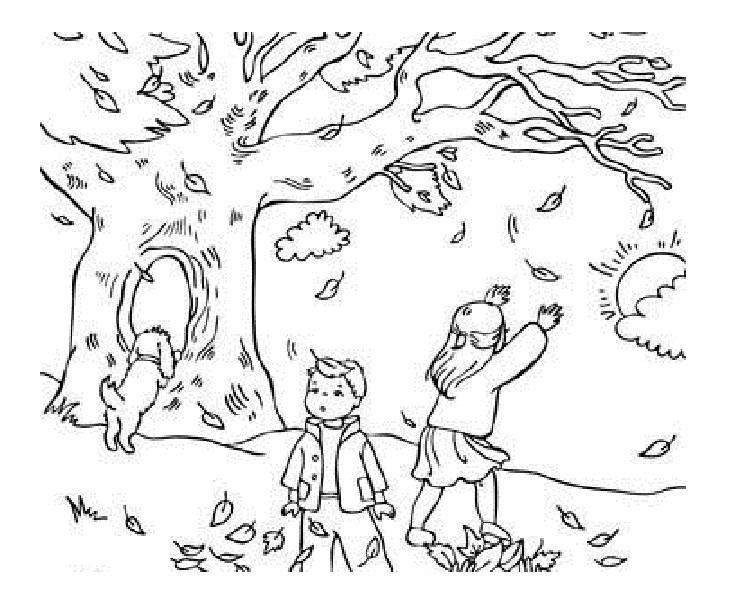 - Fall Season #164039 (Nature) – Printable Coloring Pages