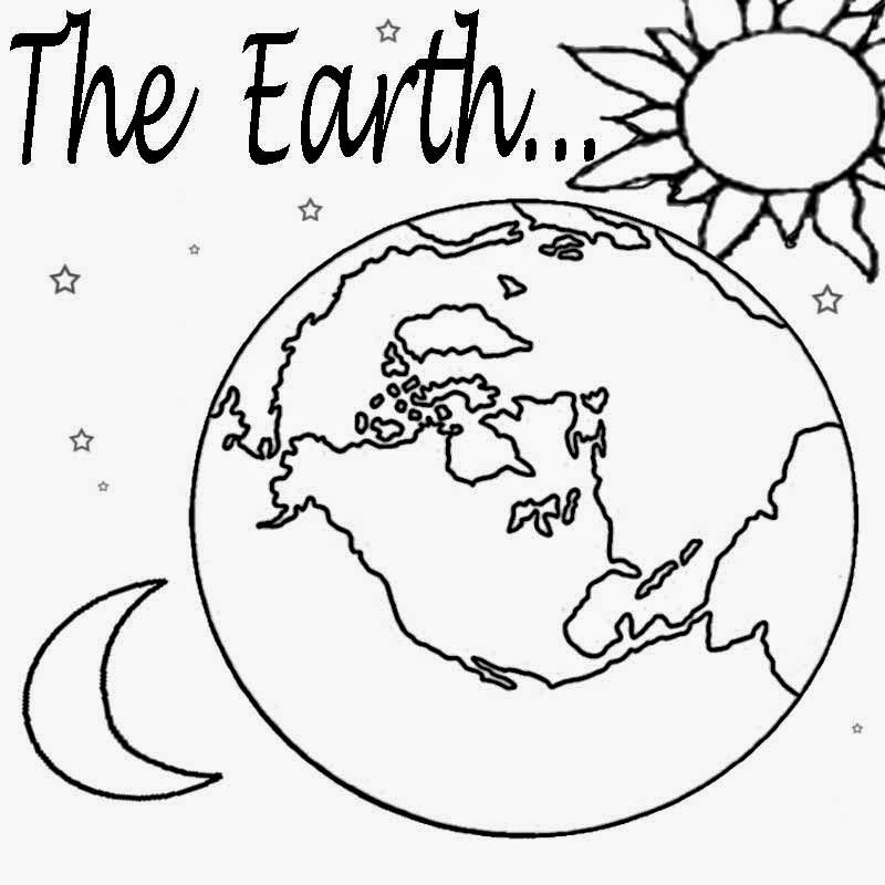 Planet 157623 Nature Printable Coloring Pages