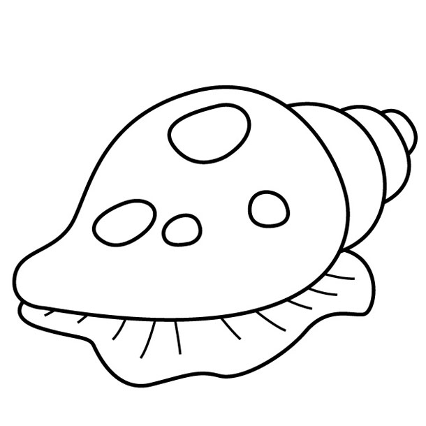 Shell 163193 Nature Printable Coloring Pages