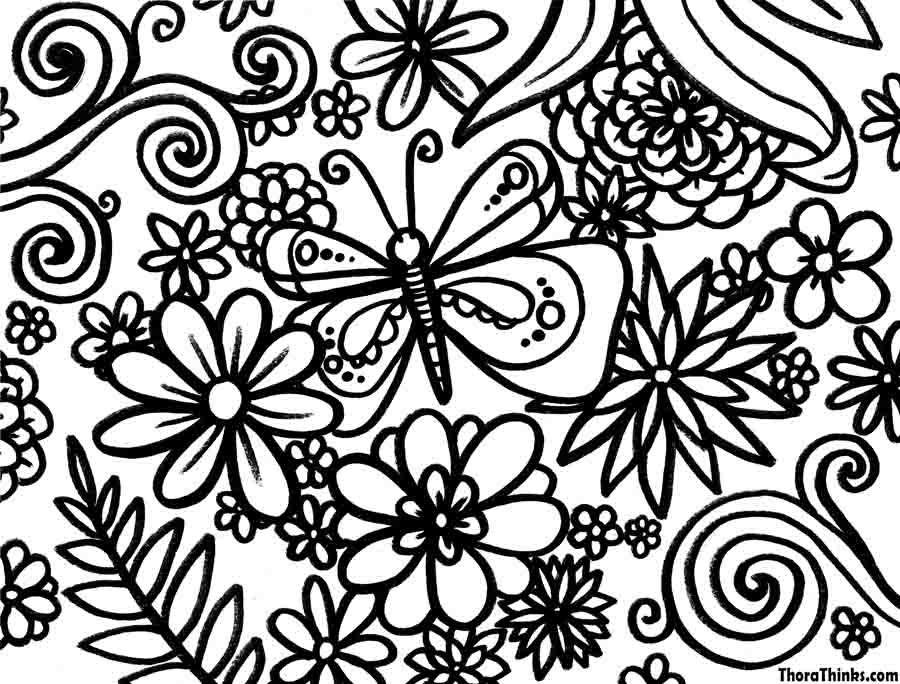 Spring Season 164759 Nature Printable Coloring Pages
