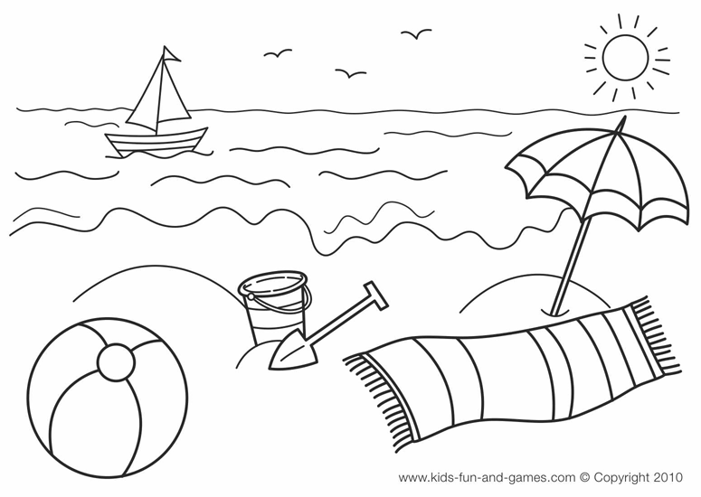 Summer Season 165106 Nature Printable Coloring Pages