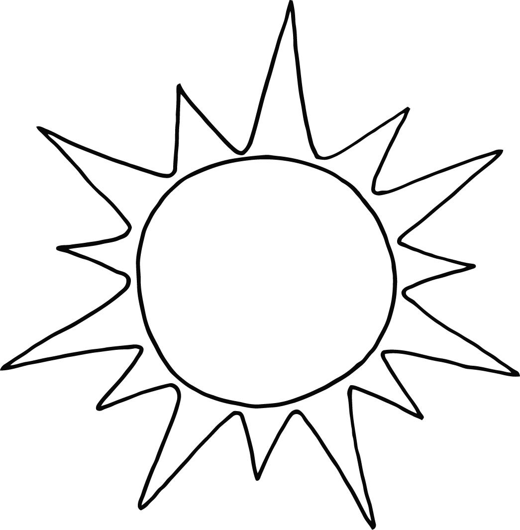 Sun #157904 (Nature) – Printable coloring pages